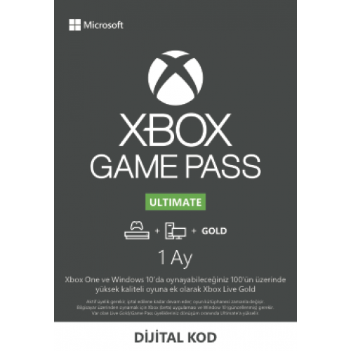 Xbox Game Pass Ultimate - 1 Ay